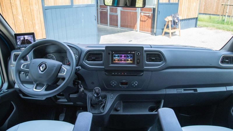 Renault Master opbygning